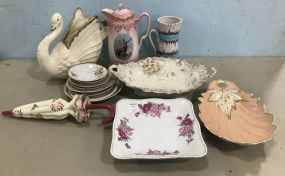 Assorted Collection of Porcelain Decor