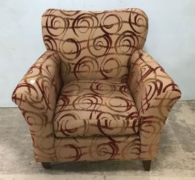 Hillcrest Furniture Company Large Upholstered Arm Chair