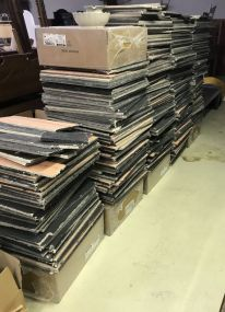 Large Group of Suspended Ceiling Tiles