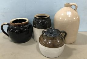 Four Pieces of Pottery