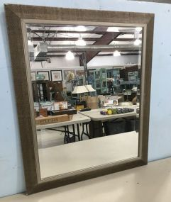 Modern Beveled Wall Mirror