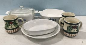 Corning Ware, Gail Pittman, and Dishes