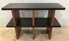 Contemporary Style Two Tier Tv Stand