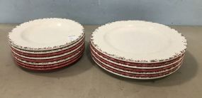 Plastic Stoneware Style Plates