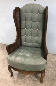 Vintage French Provincial High Back Chair