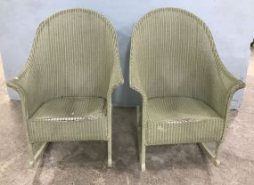 Vintage Wicker Rockers