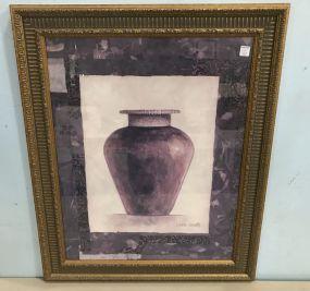 Modern Print of Vase