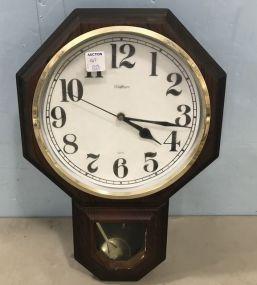 Waltham Battery Operated Wall Clock