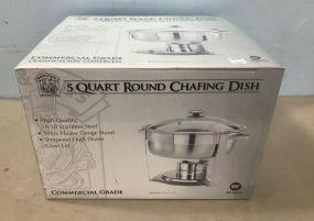 5 Quart Round Chafing Dish