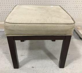 Modern Upholstered Top Stool