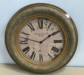 Madison Clock Co. Decor Wall Clock