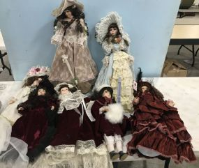 Large Collectible Doll Group