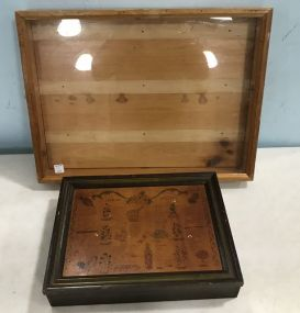 Wood Shadow Box Display