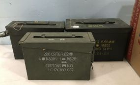 Three Ammo Boxes
