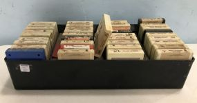 Collection of Vintage A Track Tapes