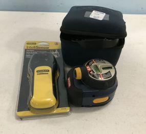 RYOBI Air Grip Laser Level and Stanley Sensor