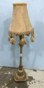 Small Modern Decor Gold Gilt Table Lamp