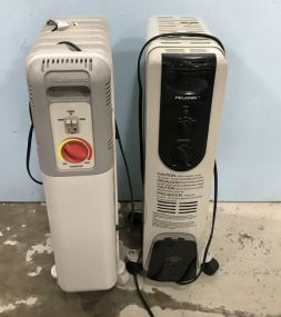Two Radiator Heaters