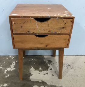 Small Mid Century Style Accent Table