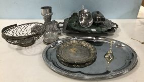 Silver Plate Assorted Serving Pieces