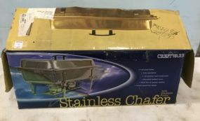 Three Boxes of Stainless Chafer Dishes