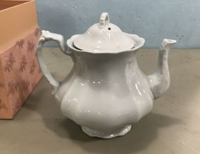 Royal Ironstone China Johnson Bros Tea Pitcher