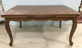 French Style Parquet Table Pub Table