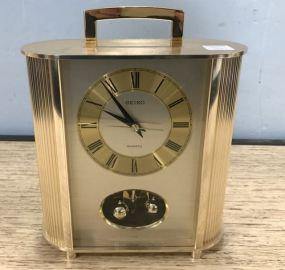 Seiko Brass Carriage Clock