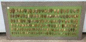 Collection of 158 Arrowheads