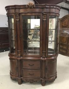 Large Modern Two Piece Cabinet