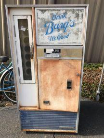 Drink Barq's It's Good Vending Machine