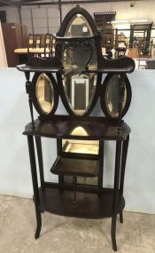 Antique Etagere Display Stand