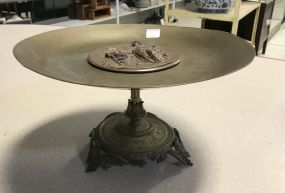 Turn of the Century Bronze & Brass Tazza