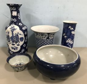 Group of Oriental Porcelain Pottery