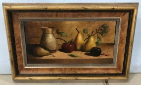 Antique Style Giclee Painting of Still Life