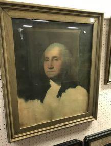 GEORGE WASHINGTON Portrait Print from