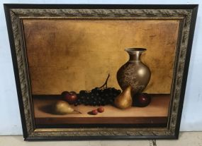 Antique Style Giclee Painting Still Life