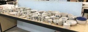 Huge Set of Pfaltzgraff Yorktowne Ceramic Serveware