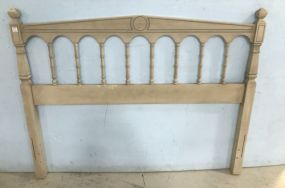 French Provincial Dixie Furniture Company Full Size Headboard