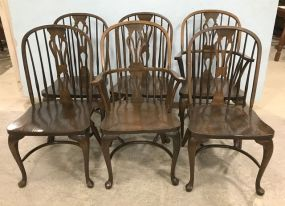 Vintage Oak Windsor Style Dinning Chair