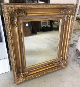 Modern Gold Gilt Wall Mirror