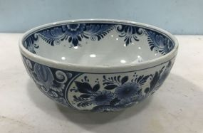 Delft Hand Painted Bowl
