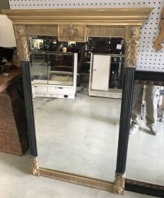 Modern Empire Style Wall Mirror