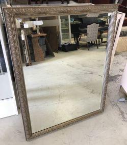 Large Modern Beveled Mirror
