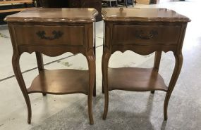 Pair of French Provincial Side Stands