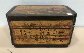 Vintage Oriental Stack Box
