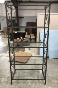 Modern Four Shelf Display Stand