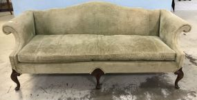Chippendale Queen Anne Camelback Sofa