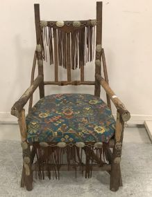 Hand Made Western Cedar Chair