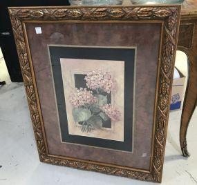 Gold Gilt Framed Barbara Mock Print